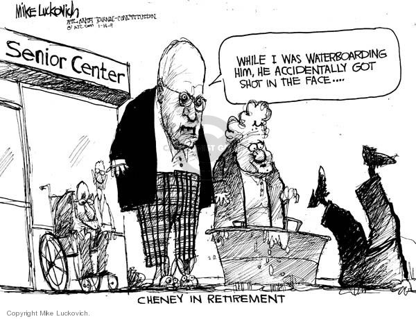 Cartoonist Mike Luckovich  Mike Luckovich's Editorial Cartoons 2009-01-14 accident