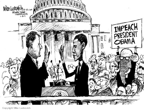 Mike Luckovich  Mike Luckovich's Editorial Cartoons 2009-01-16 Barack Obama