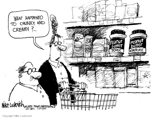 Mike Luckovich  Mike Luckovich's Editorial Cartoons 2009-01-27 choice