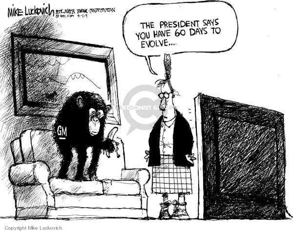 Mike Luckovich  Mike Luckovich's Editorial Cartoons 2009-04-01 Barack Obama