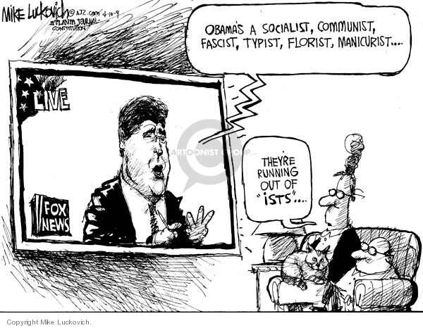 Mike Luckovich  Mike Luckovich's Editorial Cartoons 2009-04-10 journalist