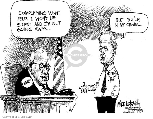 Mike Luckovich  Mike Luckovich's Editorial Cartoons 2009-05-12 Joe Biden