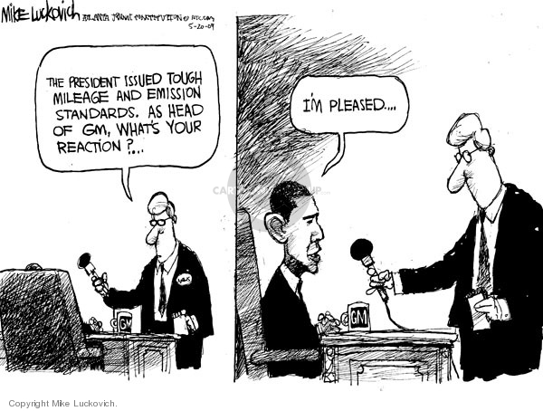 Mike Luckovich  Mike Luckovich's Editorial Cartoons 2009-05-20 Barack Obama