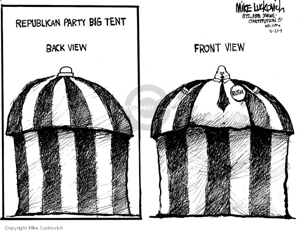 Cartoonist Mike Luckovich  Mike Luckovich's Editorial Cartoons 2009-05-27 size