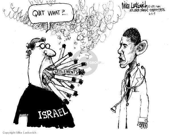 Mike Luckovich S Editorial Cartoons Quit Smoking Comics And Cartoons The Cartoonist Group