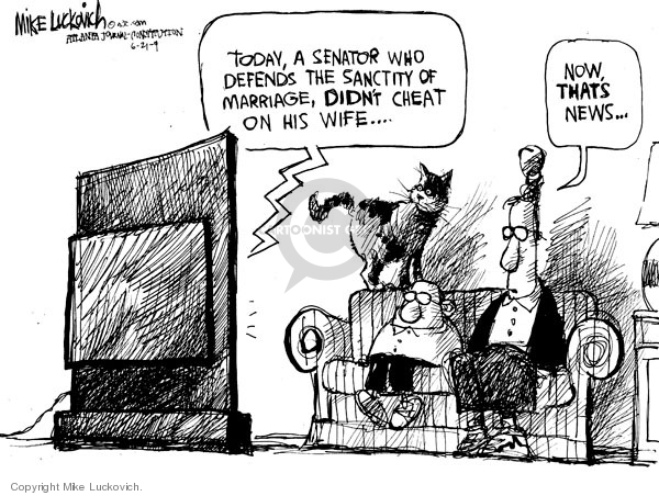 Mike Luckovich  Mike Luckovich's Editorial Cartoons 2009-06-22 senate