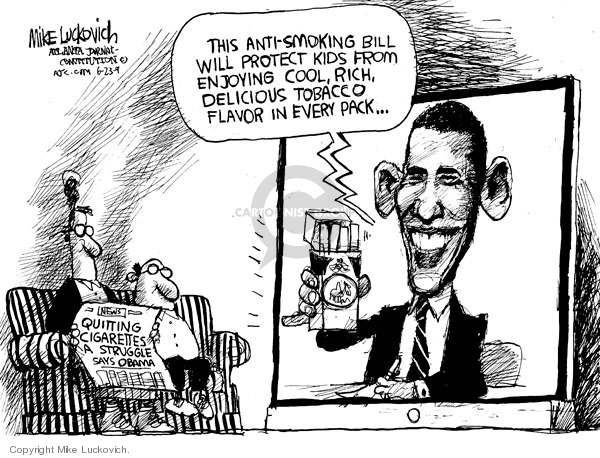 Mike Luckovich  Mike Luckovich's Editorial Cartoons 2009-06-23 addiction