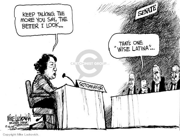 Mike Luckovich  Mike Luckovich's Editorial Cartoons 2009-07-15 senate