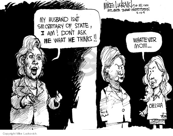 Cartoonist Mike Luckovich  Mike Luckovich's Editorial Cartoons 2009-08-13 answer