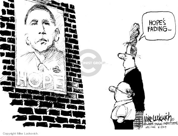 Cartoonist Mike Luckovich  Mike Luckovich's Editorial Cartoons 2009-08-23 2008 election