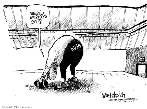 Mike Luckovich  Mike Luckovich's Editorial Cartoons 2009-10-16 racism