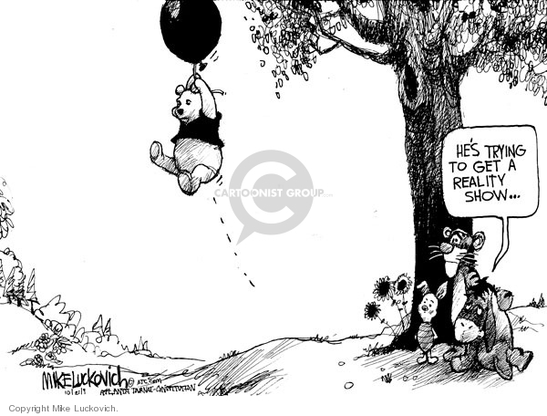 Cartoonist Mike Luckovich  Mike Luckovich's Editorial Cartoons 2009-10-21 hot