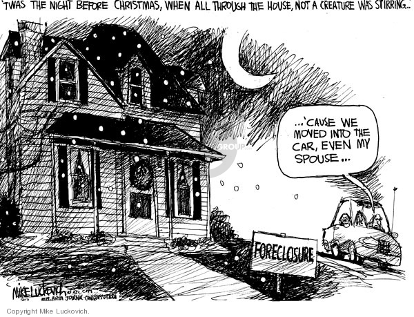 Mike Luckovich  Mike Luckovich's Editorial Cartoons 2009-12-16 'twas