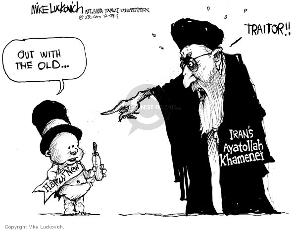 Mike Luckovich  Mike Luckovich's Editorial Cartoons 2009-12-29 Middle East
