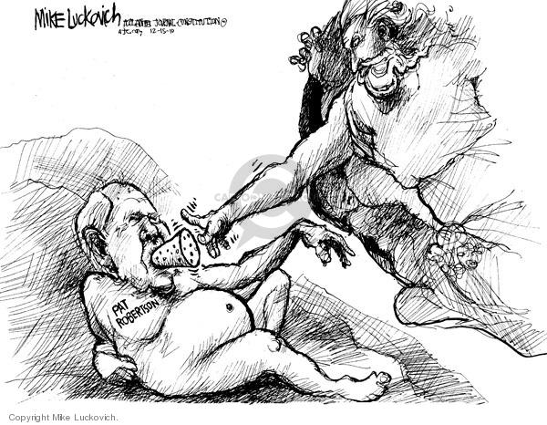 Cartoonist Mike Luckovich  Mike Luckovich's Editorial Cartoons 2010-01-15 Pat