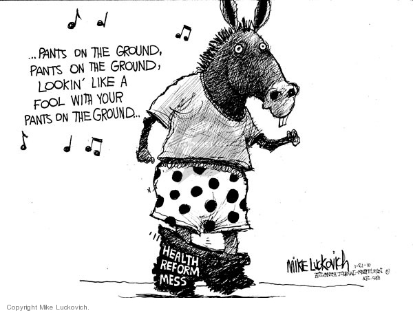 Mike Luckovich  Mike Luckovich's Editorial Cartoons 2010-01-21 music