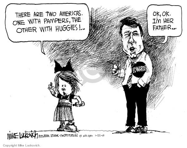 Cartoonist Mike Luckovich  Mike Luckovich's Editorial Cartoons 2010-01-22 Edward