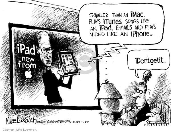 Cartoonist Mike Luckovich  Mike Luckovich's Editorial Cartoons 2010-01-28 Steve