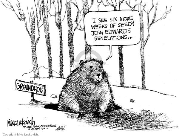 Cartoonist Mike Luckovich  Mike Luckovich's Editorial Cartoons 2010-02-03 Edward