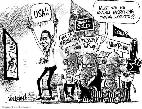 Mike Luckovich  Mike Luckovich's Editorial Cartoons 2010-02-14 Barack Obama