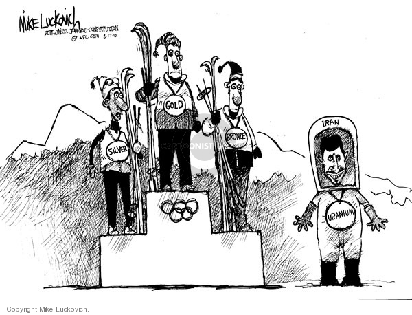 Mike Luckovich  Mike Luckovich's Editorial Cartoons 2010-02-17 Olympic medal