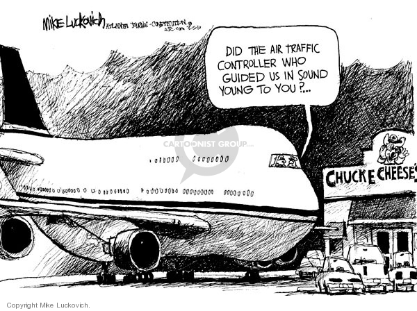 Cartoonist Mike Luckovich  Mike Luckovich's Editorial Cartoons 2010-03-05 travel safety
