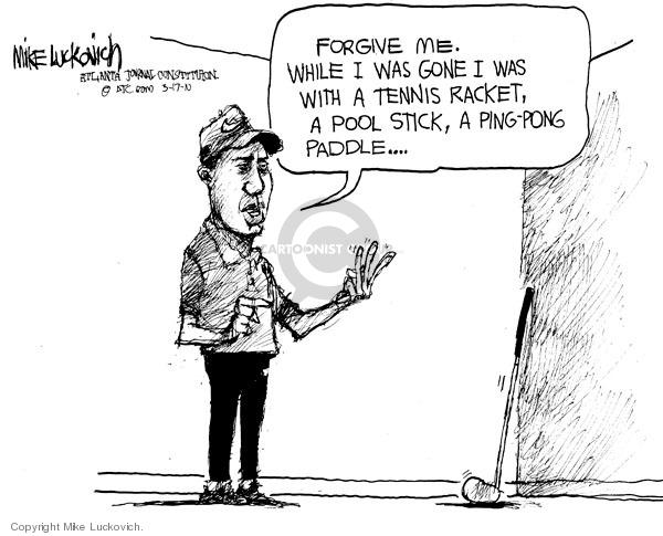 Mike Luckovich  Mike Luckovich's Editorial Cartoons 2010-03-17 tennis