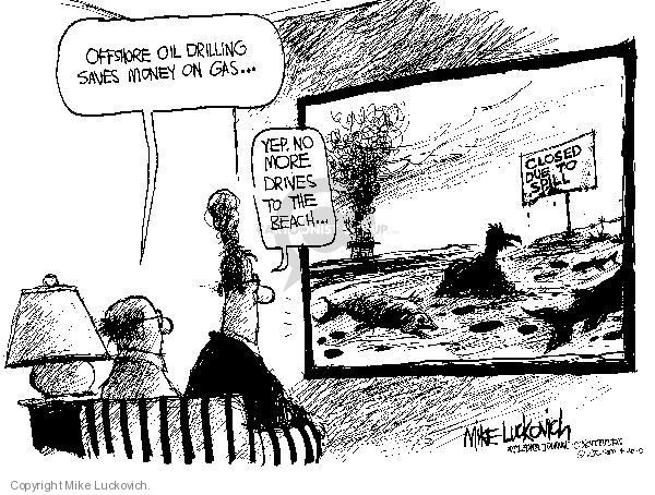 Mike Luckovich  Mike Luckovich's Editorial Cartoons 2010-04-30 environment