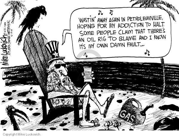 Cartoonist Mike Luckovich  Mike Luckovich's Editorial Cartoons 2010-05-19 claim