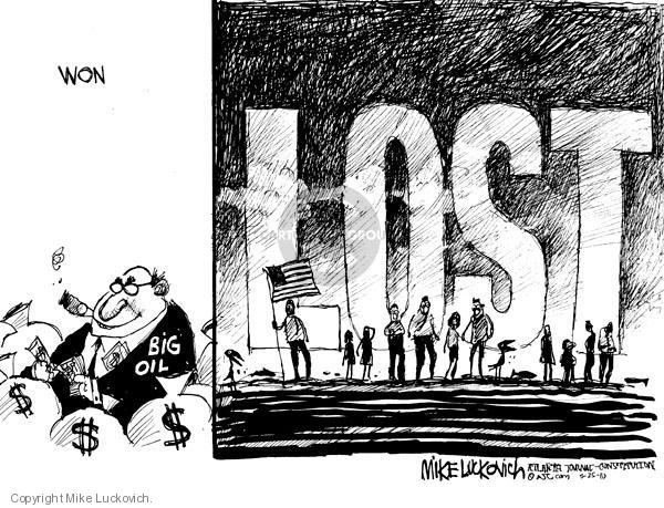 Mike Luckovich  Mike Luckovich's Editorial Cartoons 2010-05-25 environment