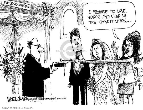 Cartoonist Mike Luckovich  Mike Luckovich's Editorial Cartoons 2010-07-15 Constitution