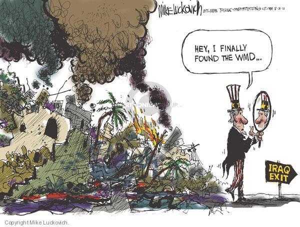 Mike Luckovich  Mike Luckovich's Editorial Cartoons 2010-08-31 identification