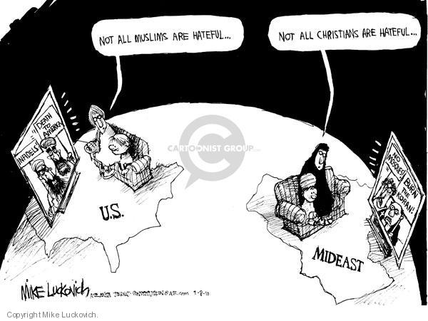 Mike Luckovich  Mike Luckovich's Editorial Cartoons 2010-09-08 mideast