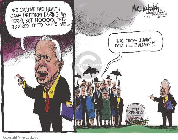 Cartoonist Mike Luckovich  Mike Luckovich's Editorial Cartoons 2010-09-19 Presidency