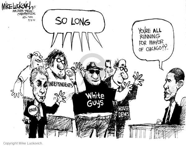 Cartoonist Mike Luckovich  Mike Luckovich's Editorial Cartoons 2010-09-30 independent