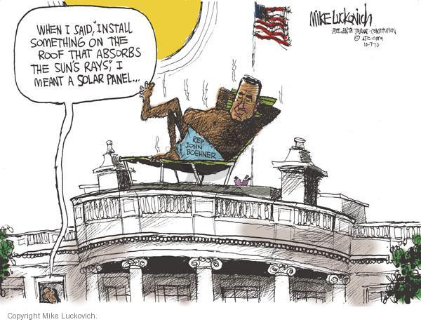 Cartoonist Mike Luckovich  Mike Luckovich's Editorial Cartoons 2010-10-07 sound