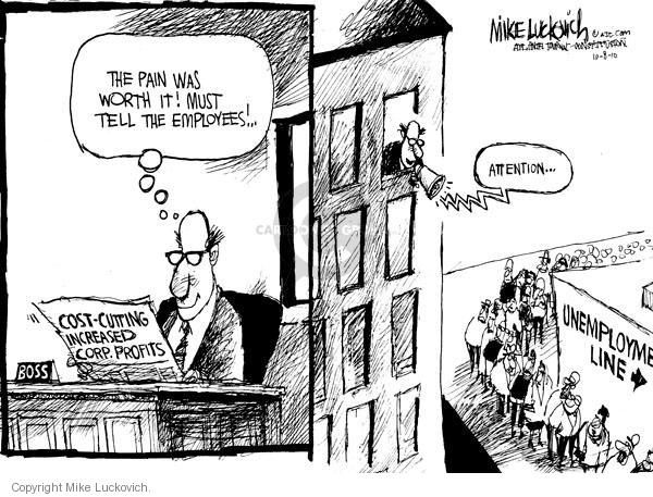 Cartoonist Mike Luckovich  Mike Luckovich's Editorial Cartoons 2010-10-08 pain