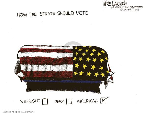 Mike Luckovich  Mike Luckovich's Editorial Cartoons 2010-12-17 death