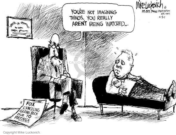 Cartoonist Mike Luckovich  Mike Luckovich's Editorial Cartoons 2011-04-08 television program