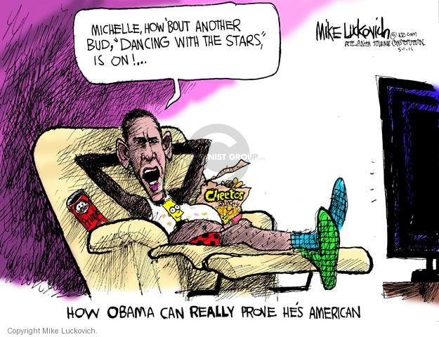 Mike Luckovich  Mike Luckovich's Editorial Cartoons 2011-05-01 Barack Obama
