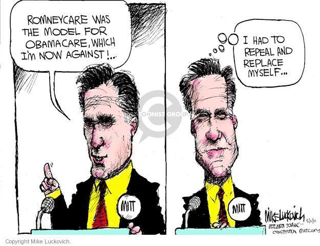 Cartoonist Mike Luckovich  Mike Luckovich's Editorial Cartoons 2011-05-11 health