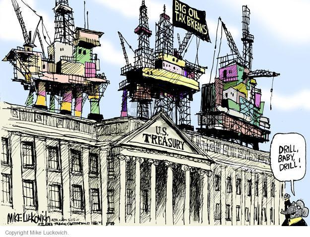 Mike Luckovich  Mike Luckovich's Editorial Cartoons 2011-05-15 republican politician