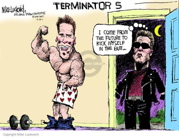 Cartoonist Mike Luckovich  Mike Luckovich's Editorial Cartoons 2011-05-19 Arnold