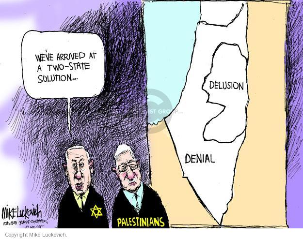 Mike Luckovich  Mike Luckovich's Editorial Cartoons 2011-05-24 mideast
