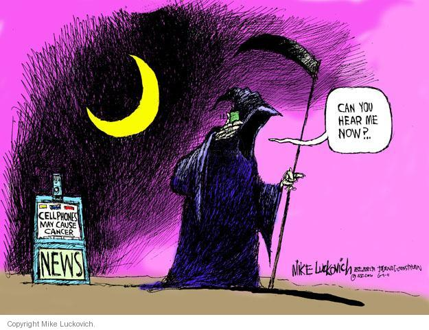 Mike Luckovich  Mike Luckovich's Editorial Cartoons 2011-06-01 cancer