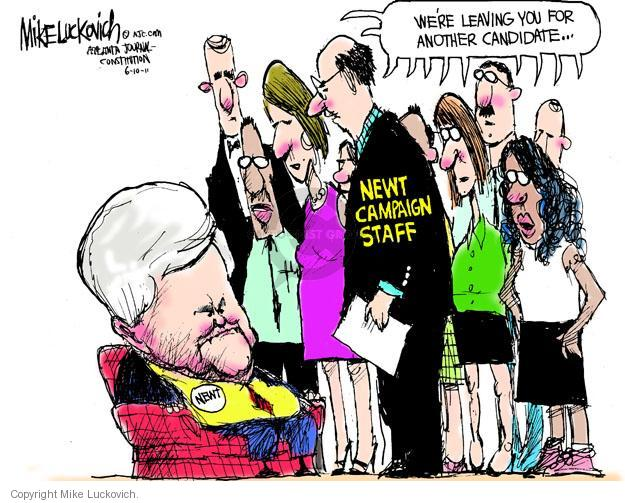 Cartoonist Mike Luckovich  Mike Luckovich's Editorial Cartoons 2011-06-10 editorial staff