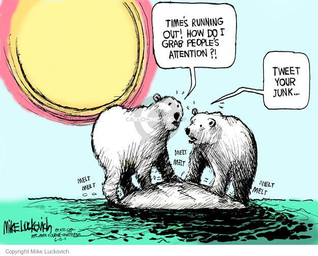 Cartoonist Mike Luckovich  Mike Luckovich's Editorial Cartoons 2011-06-12 attention