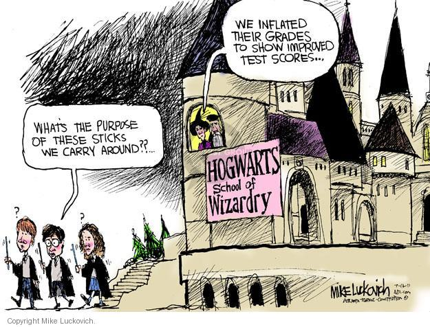 Cartoonist Mike Luckovich  Mike Luckovich's Editorial Cartoons 2011-07-13 Harry