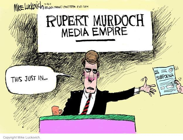 Cartoonist Mike Luckovich  Mike Luckovich's Editorial Cartoons 2011-07-14 corp