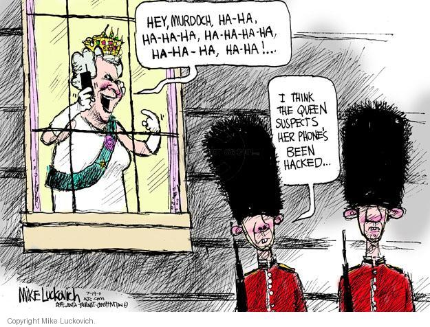 Cartoonist Mike Luckovich  Mike Luckovich's Editorial Cartoons 2011-07-19 royal